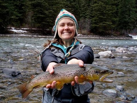 Locals Fishing Report written for Explore Big Sky