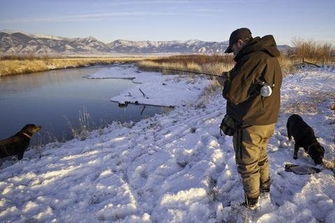 Big Sky, Montana winter fly fishing trips