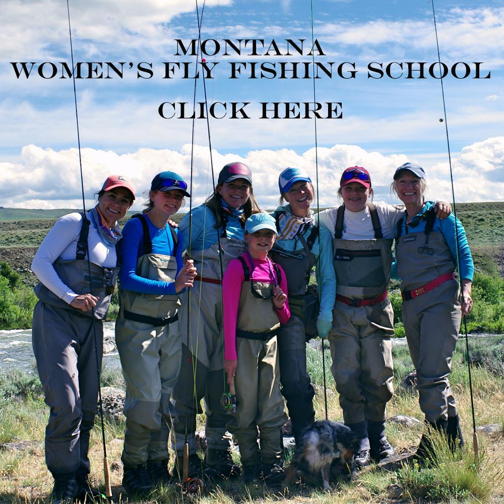 Montana Women's Fly Fishing School