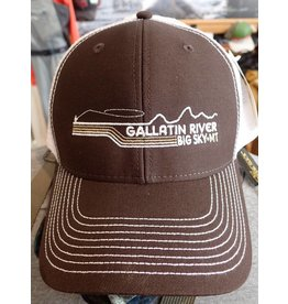 Ouray Sportswear Gallatin River Sideline Cap
