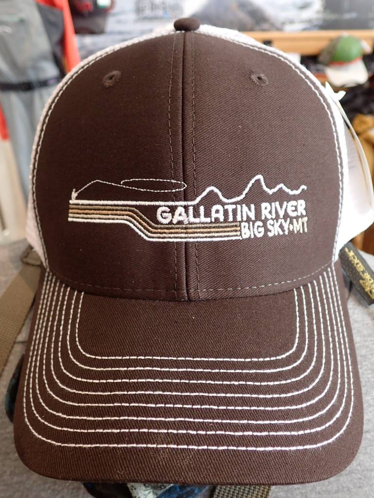 Ouray Sportswear Gallatin River Big Sky, MT Sideline Cap