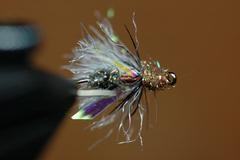 Curtis' Hi-Vis Flying Ant Fly Tying Recipe with Gallatin River Guides