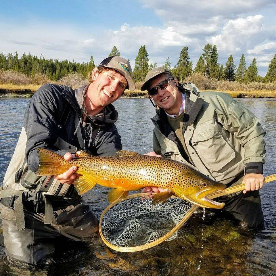 Big Fish Gallery.  Fall in Yellowstone National Park