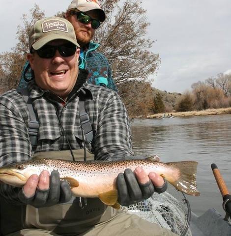"""From Sales to Oar Sticks: Montana Fishing Guide School """"Darren Ward"""""""