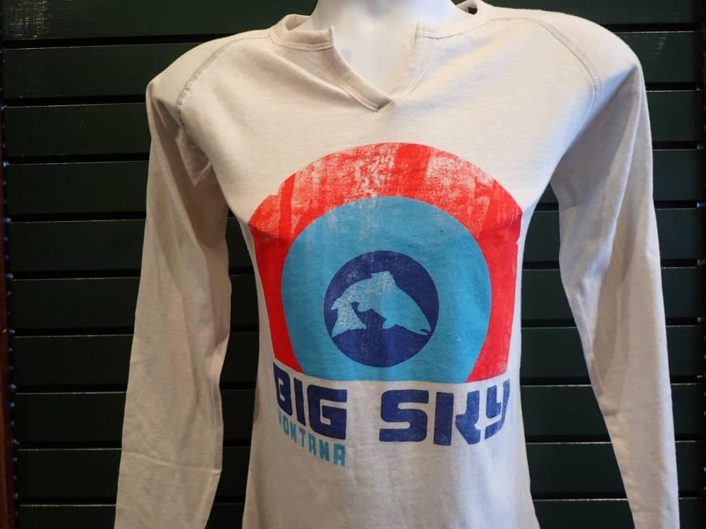 Ouray Sportswear GRG Women's Groove Long Sleeve T-Shirt - Oatmeal Heather