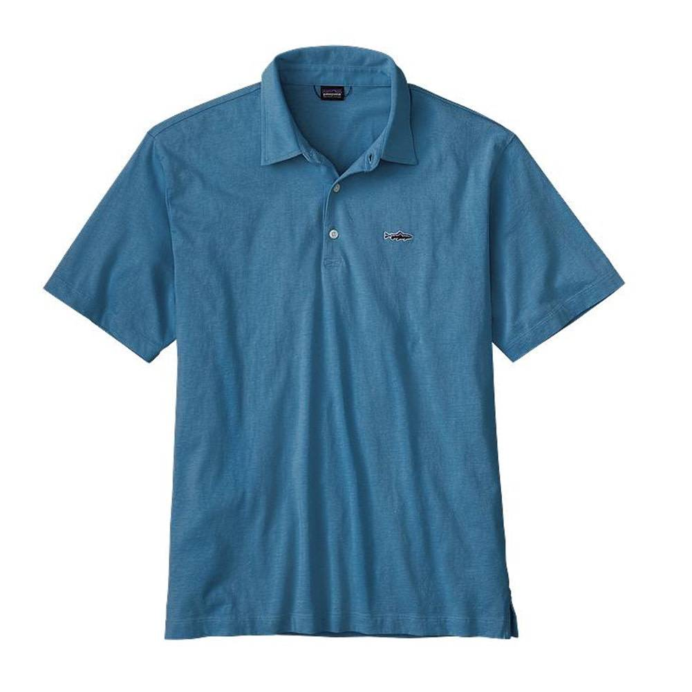 Patagonia Patagonia Men's Polo - Trout Fitz Roy
