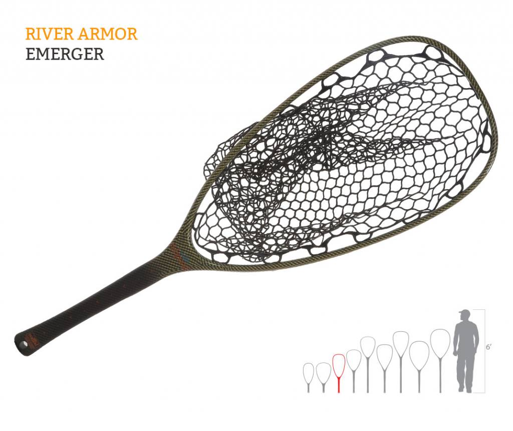 Fishpond Fishpond Nomad Emerger Net- River Armor