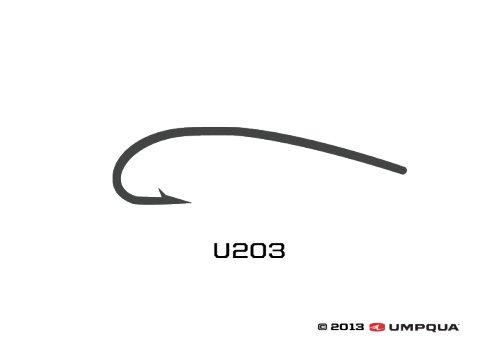 Umpqua Umpqua U-Series Curved Hook U203