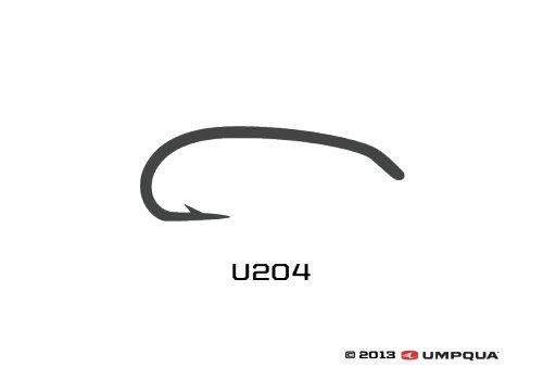 Umpqua Umpqua U-Series Curved Hook U204