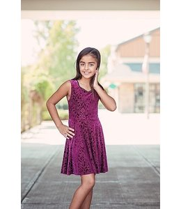 Sally Miller Sally Miller Emma Dress Magenta
