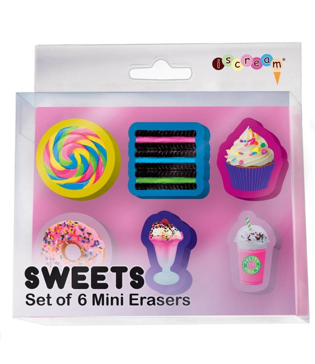 iScream Iscream Mini Eraser Set