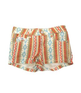 Pink Rock Pink Rock Printed Short Multi