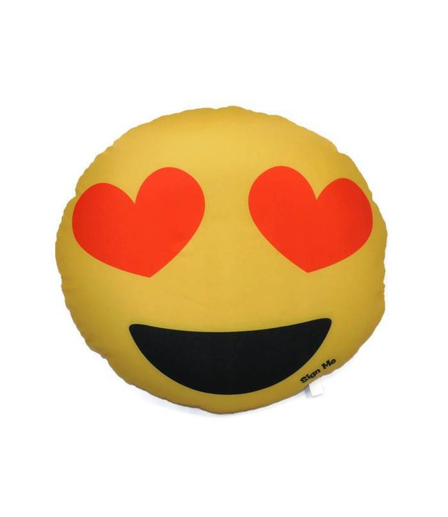 Confetti & Friends Confetti & Friends Double Sided Emoji Pillows