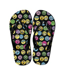 iScream Iscream Funny Emoji Flip Flops