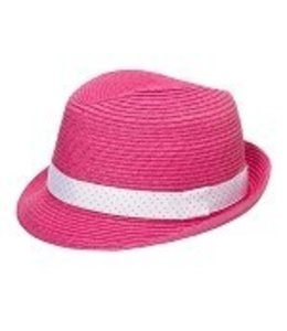 3c4g Trilby Fedora Hot Pink