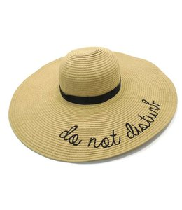 Two's Company Two's Company Floppy Hat Do Not Disturb