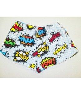 Confetti & Friends Confetti & Friends Fuzzy Pow Short White/Multi