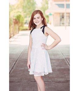 Sally Miller Sally Miller Brooke Dress Black/White