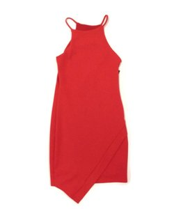 Cheryl Creations Envelope Dress Red