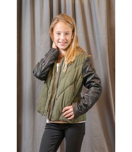Blank NYC Blank NYC Jacket Army Green/Black