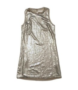 SugarLips SL Solid Dress Dull Silver