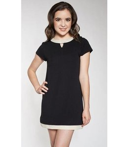 Sally Miller Sally Miller Chloe Dress Black/Ivory