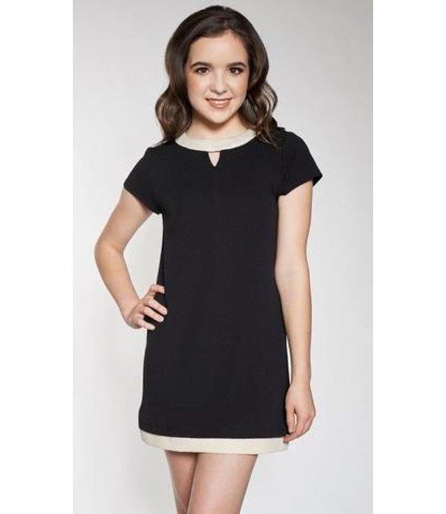 Sally Miller Sally Miller Chloe Dress Black/Ivory