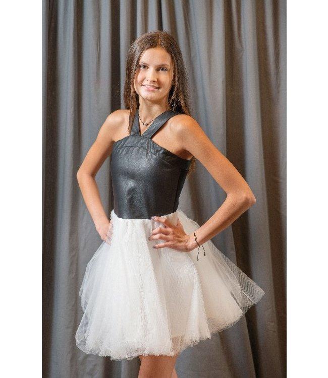 Miss Behave Miss Behave Stephanie Dress Black/White