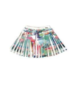 Mayoral Pleated Skirt White/Multi