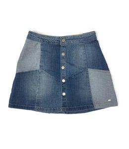 Mayoral Denim Knit Skirt Multi