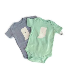 Infant State Outline Onesies