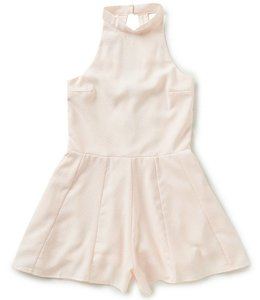 Miss Behave Miss Behave Safira Romper Blush