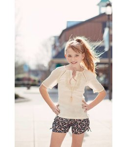 PPLA Tween PPLA Parsley Blouse Natural