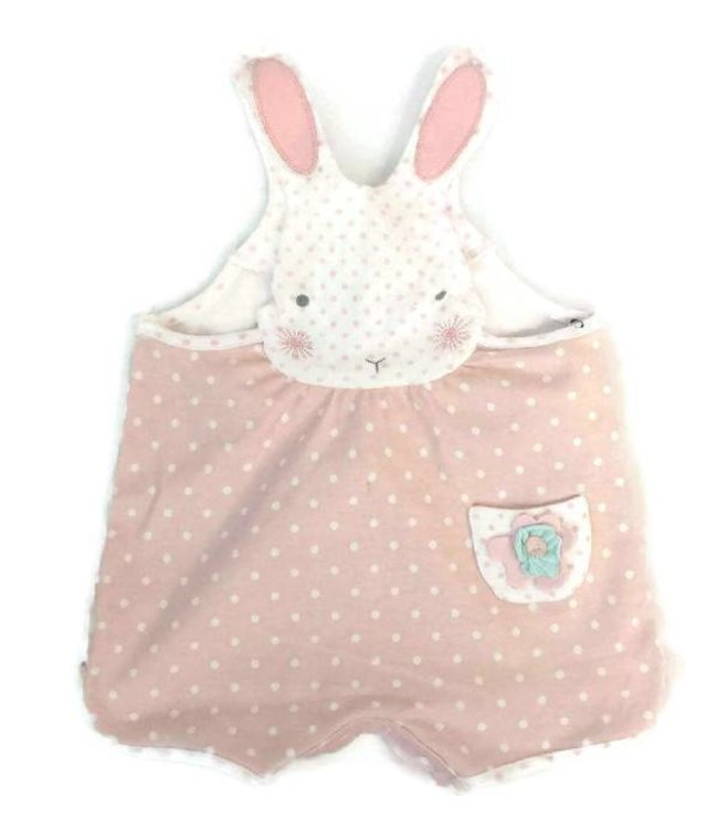 Bunnies By The Bay Hoppy Hop Suit Pink/White