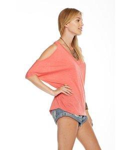 Chaser Women Chaser Vintage Oversized Dolmans Shirt Melon