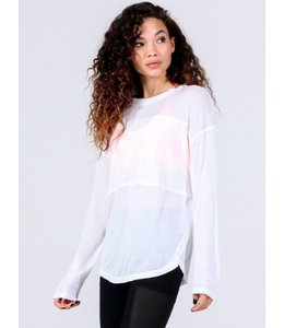 PC L/S Contrast Panel Top White