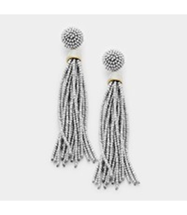 Beaded Dangle Earring