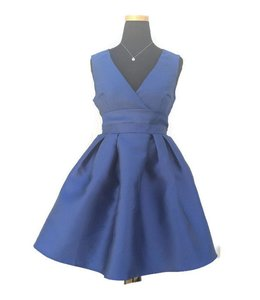 Go Show Fit And Flare Dress Navy