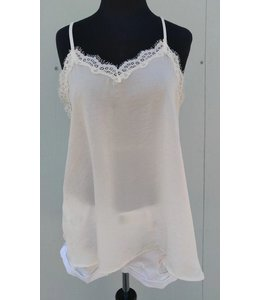 Cami Top W/ Lace Ivory