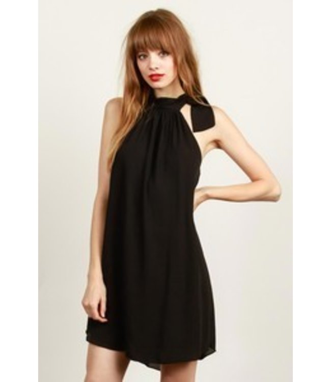 TCEC Bow Tie Dress Black