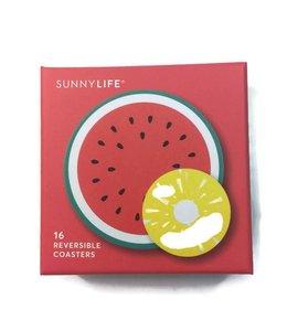 Sunny Life Pin & Water Coaster