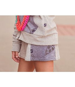 Terry Cloth Yummies Short in Grey by Terez