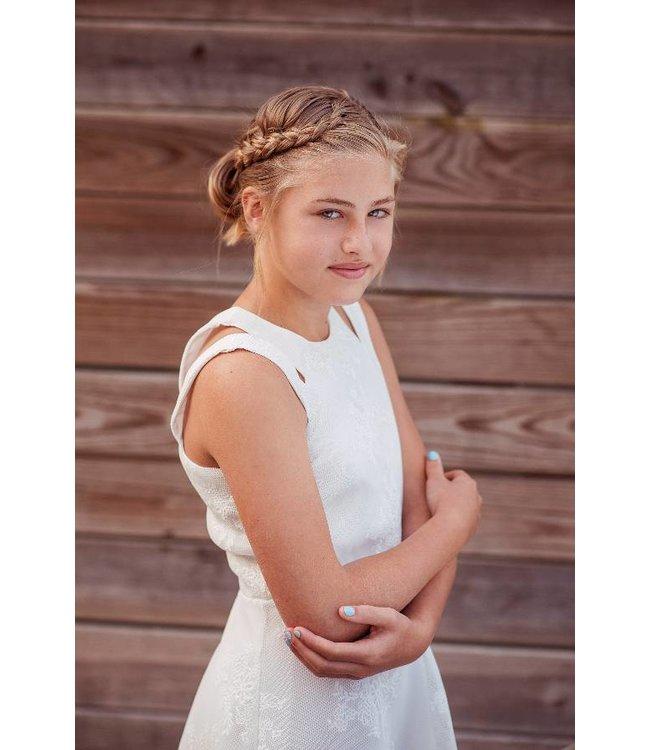 Miss Behave Miss Behave Adrianna Dress White