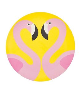Large Flamingo Eco Plate