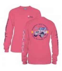 Simply Southern Simply Southern L/S Sweet Shirt Stawberry