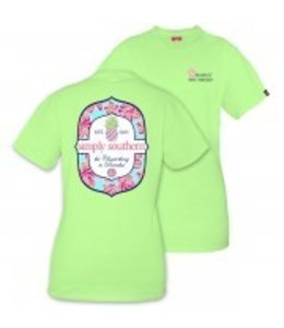 Simply Southern Simply Southern Paradise Shirt Limeaide