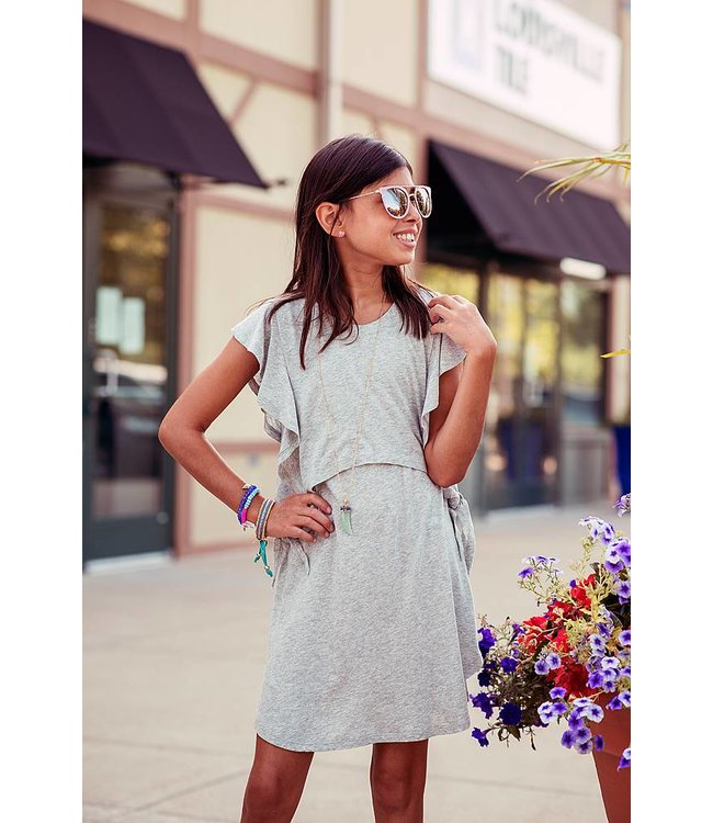 Splendid Jersey Dress Grey