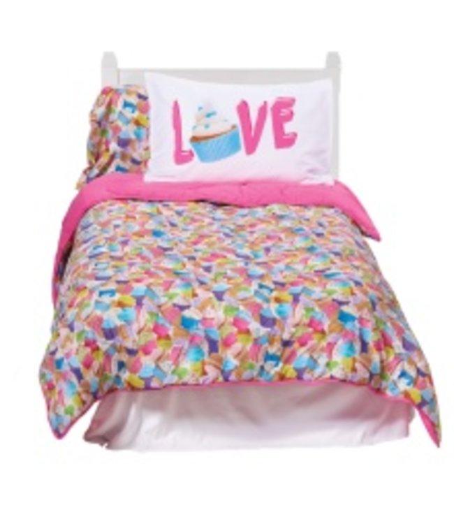 iScream Iscream Cupcake Comforter Multi