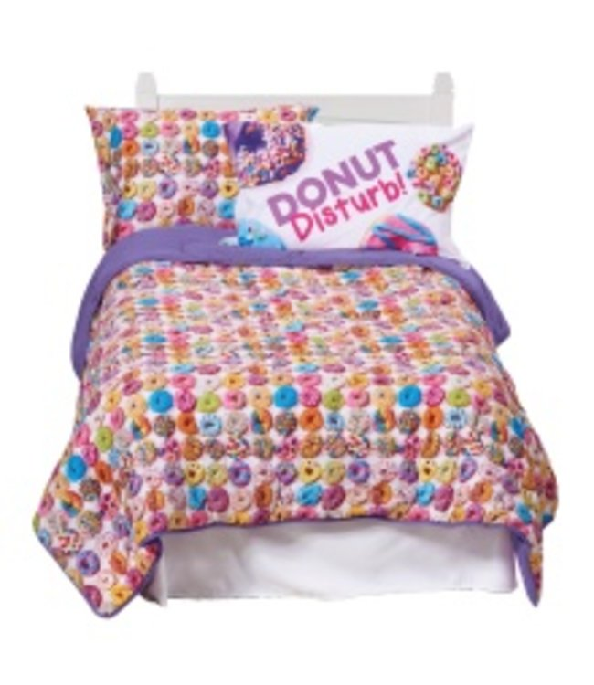 iScream Iscream Assorted Donuts Comforter Multi