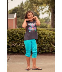 Chaser Tween Chaser LoveKnit Cozy Sweatpant Fish